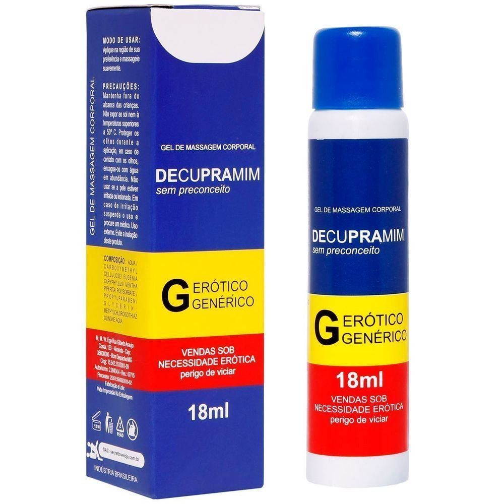 DECUPRAMIM GEL DILATADOR ANAL 18ML SECRET LOVE